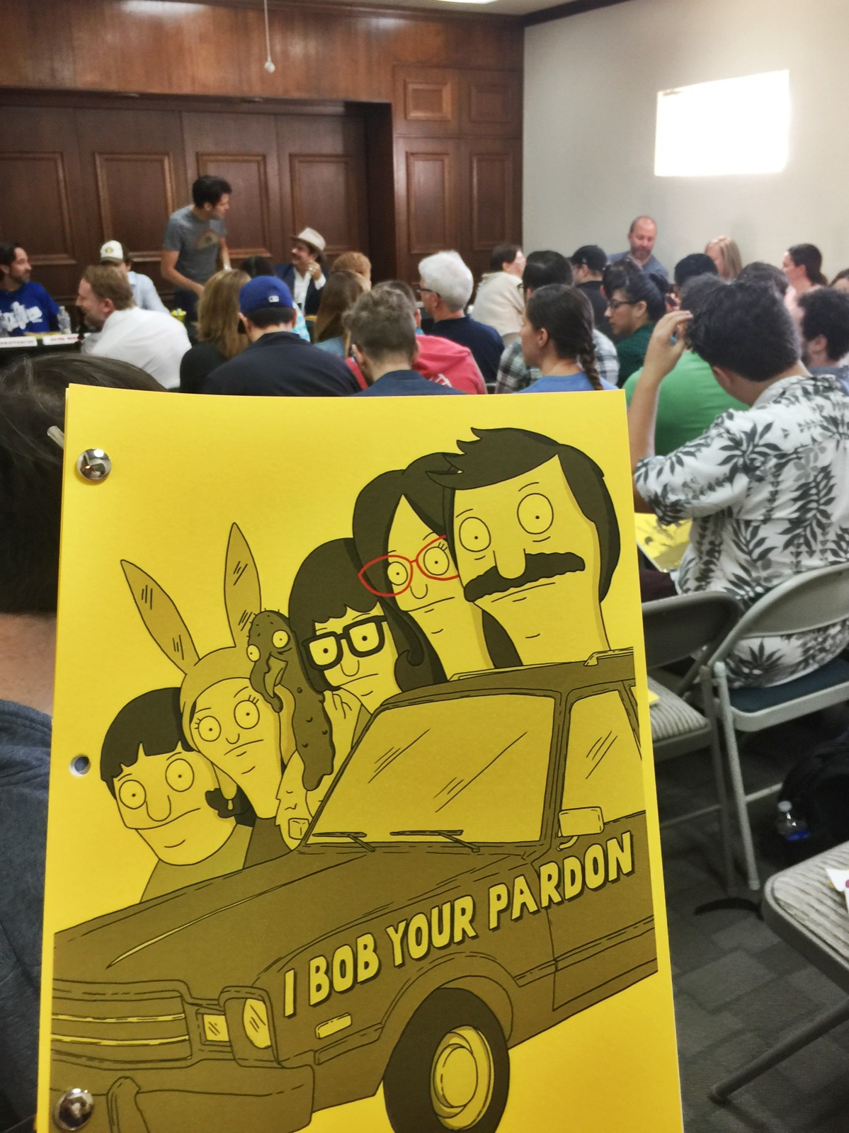 Bob's Burgers Table Read