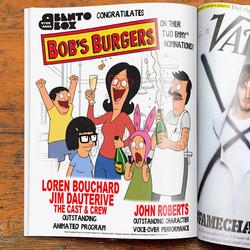 Bob's Burgers Emmy Nomination 2015