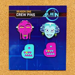 Alien Newsdesk x Bento pins