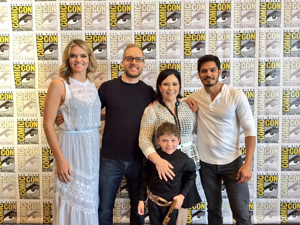 Bordertown cast and creator