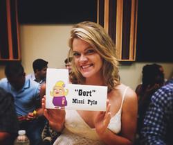 "Missi Pyle as ""Gert"" on Bordertown"