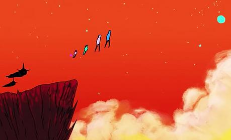 Aliens Coldplay music video