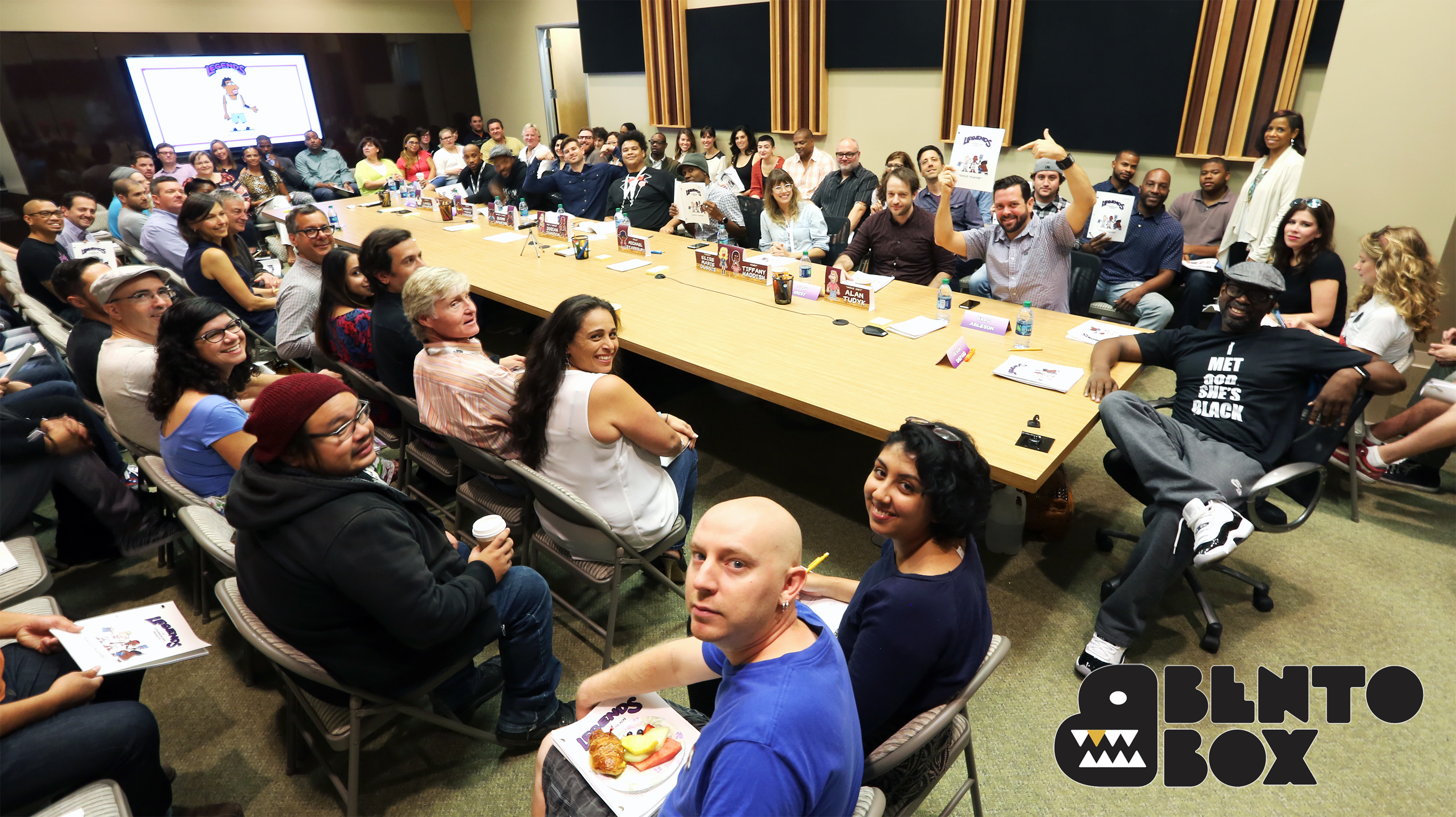 First Table Read for Legends