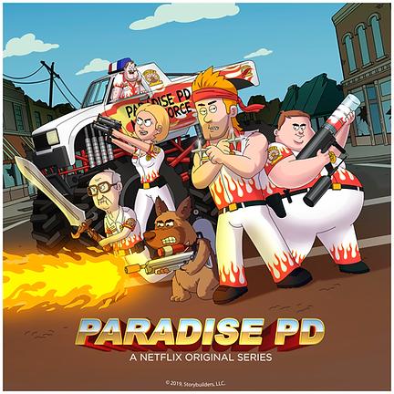 Paradise PD Netflix