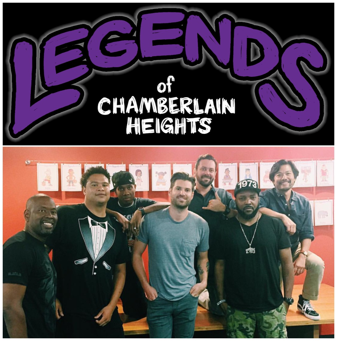 First Day of Production for Legends