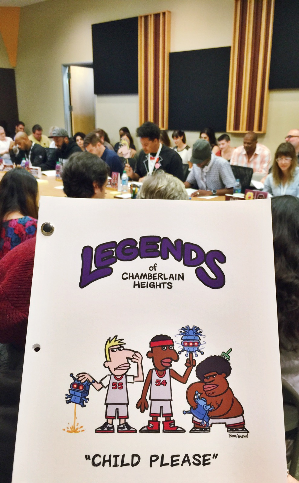 Legends Table Read