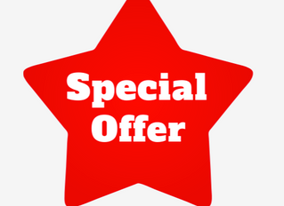 February & March 2020 Special Offer!