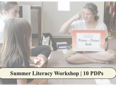Summer Literacy Workshop
