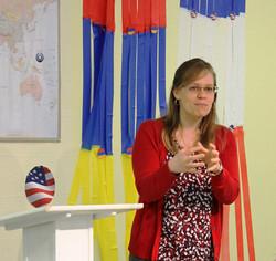 Missionary to Romania