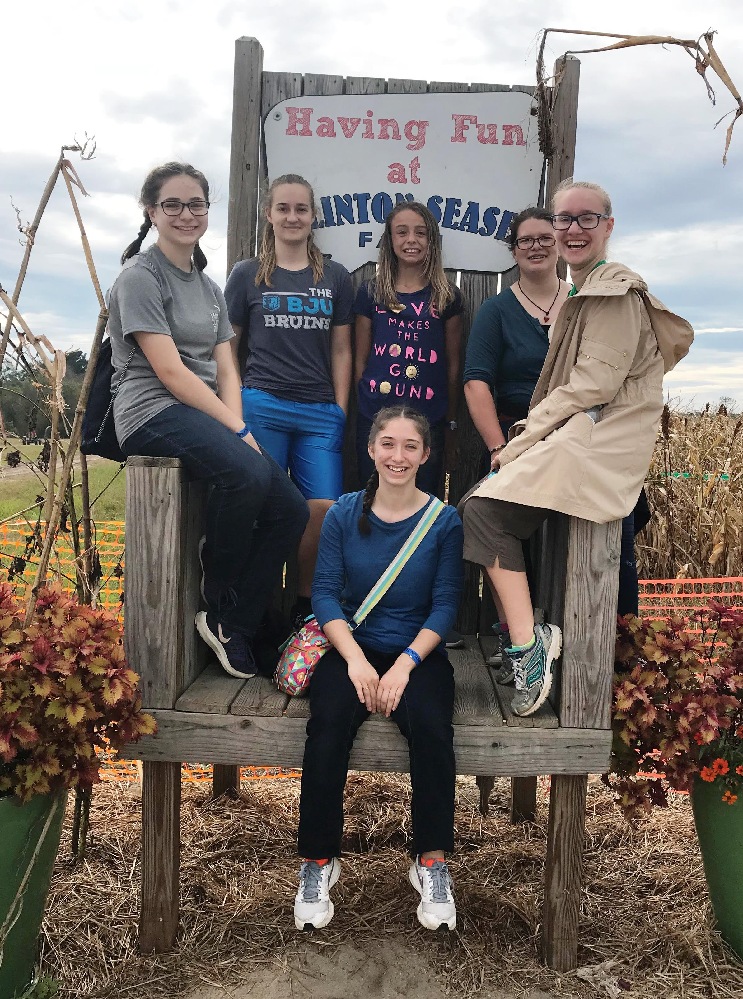 At the Corn Maze