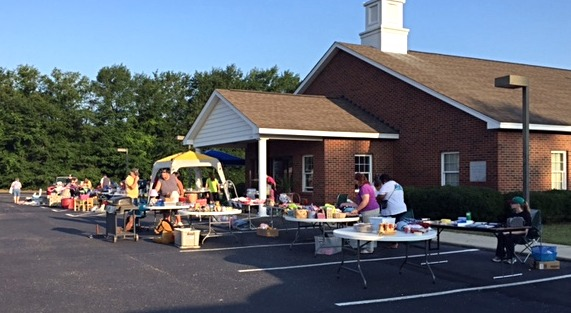 Yard Sale for Camp 2017