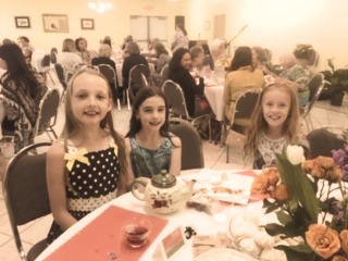 Little Ladies at the Tea