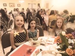 Little Ladies at the Tea
