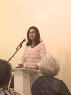 Mrs. Vicki Egerdahl, our Speaker