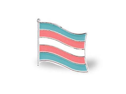 Tran Flag Pin