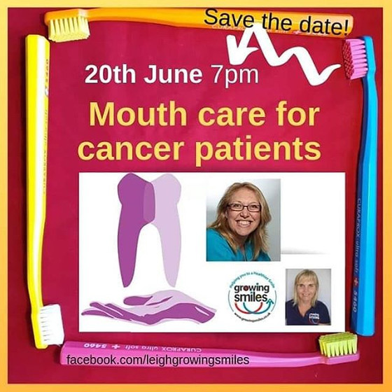Lovely to be the first invited live guest of Leigh fromTalking Teeth - Growing Smiles