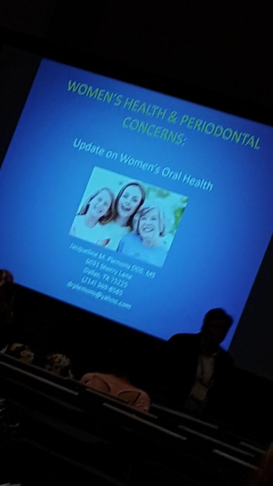CDASF : Superb lecture by Dr Jacqueline Plemons