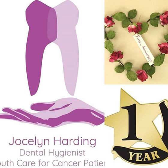 1st Anniversary of my logo - where has that time gone and amazed at what has been achieved so far!