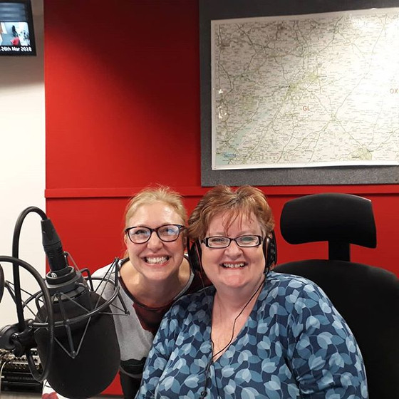 RADIO INTERVIEW WITH BBC RADIO GLOUCESTERSHIRE - ANNA KING