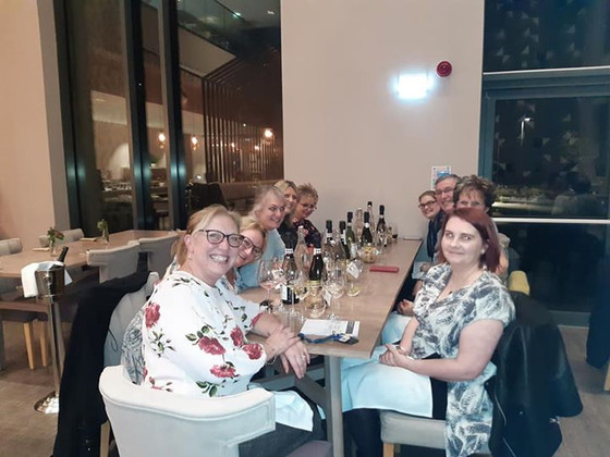 Talking Mouths Talking Cancer Care charity fundraising conference speakers dinner (kindly sponsored