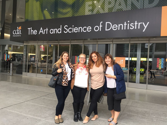 Californian Dental Conference :Lovely to be 1 of 4 winners of Philips #shineon competition.
