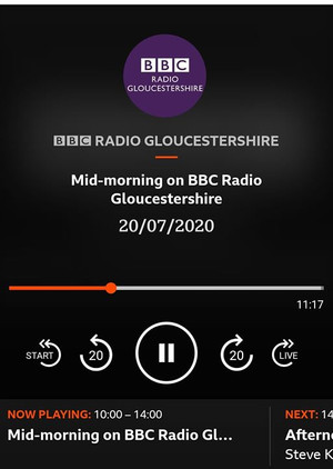 Great to have a slot discussing oral health with Anna King Radio Gloucestershire