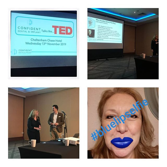 Confident does Ted Talk Type presentations - honoured to be a part of this and share more about the