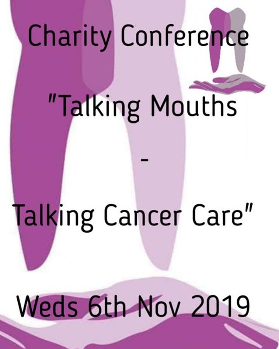 "Things hotting up for my conference ""Talking Mouths - Talking Cancer Care""- great speakers"