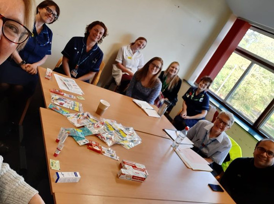 Presentation to Cheltenham Oncology team - kindly gave up their lunch hour to learn how to improve o