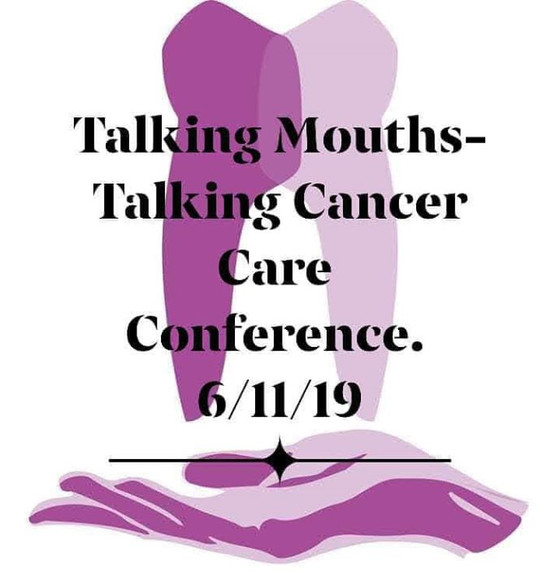 Talking Mouths Talking Cancer Care charity fundraising conference .....it is finally here.