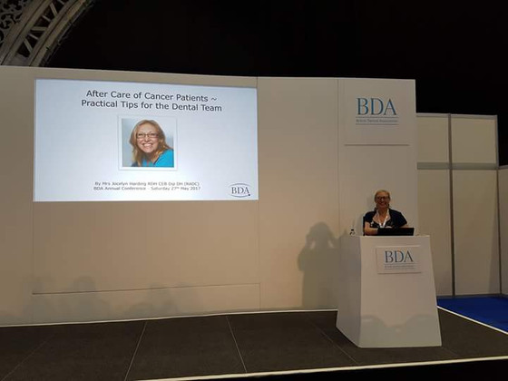 1st presentation at BDA Annual Conference Manchester.