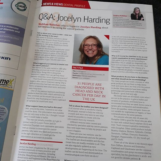 LOVELY ARTICLE Q & A IN IRISH MAGAZINE - thank you Siobhan kelleher