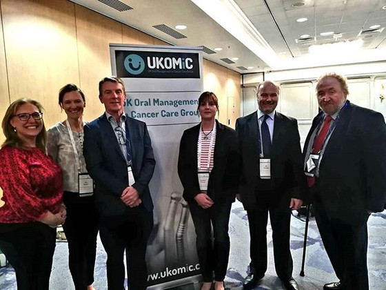 UK Oncology Forum 2019- Brighton. Part of the UKOMIC team and launch of the 3rd edition of the guida