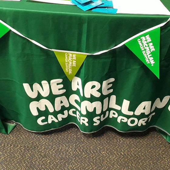 BRUSHUPUK DAY AT MACMILLAN HEALTH AND WELL BEING DAY