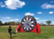 Soccer Darts Inflatable Retal