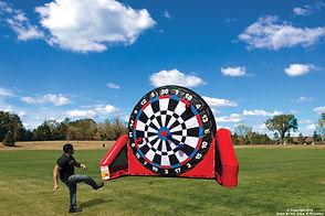 Inflatable Soccer Darts Rentals