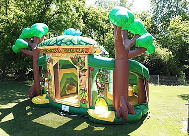 Rainforest Fun Center Inflatable