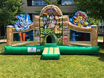 Zoo Playland Inflatable Rental