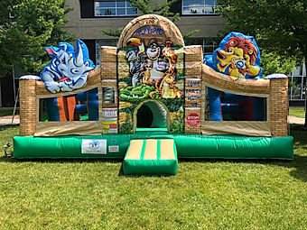 Zoo Playland Inflatable Rental