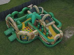 JungleWorld Kid Combo Inflatable Bounce House Rental