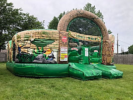 Jungle World Inflatable Combo Rentals