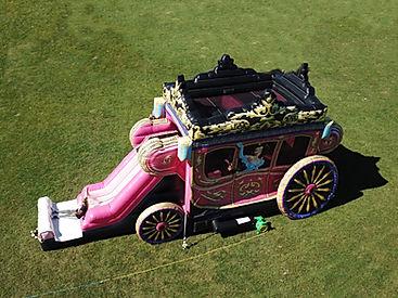Princess Carriage Bouce House