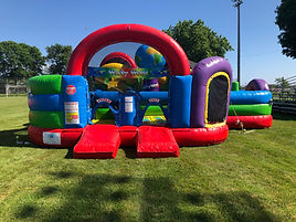 Wacky World Inflatable Bounce House Rental