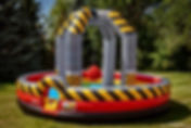 High Voltage Wrecking Ball Inflatable Rental