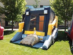 Skid Loader Bounce House