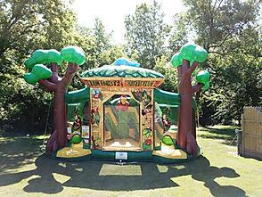 Rainforest Fun Center Bounce House Rental