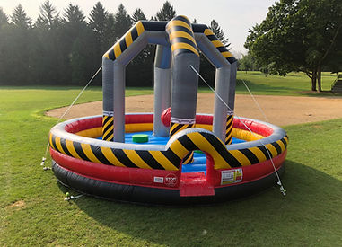 High Voltge Wrecking Ball Inflatable
