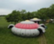UFO Alien Invasion Maze