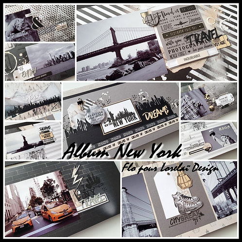 KIT COMPLET ALBUM NEW YORK *