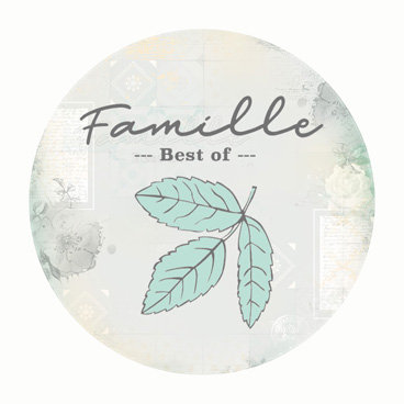 BADGE BEST OF FAMILLE (LOT DE 15)